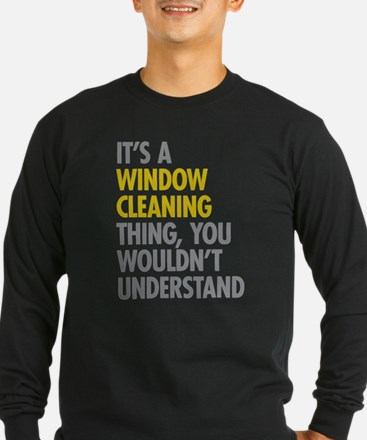 Window Cleaning Long Sleeve T-Shirt