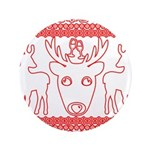 chritmas deer gifts red white 3.5