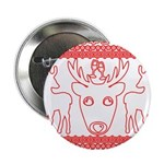 chritmas deer gifts red white 2.25