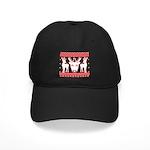 chritmas deer gifts red white Baseball Hat