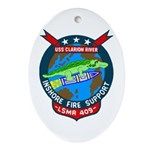 USS Clarion River (LSMR 409) Oval Ornament
