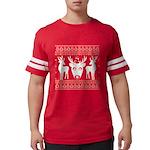chritmas deer gifts red white T-Shirt