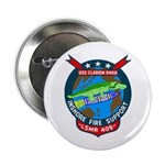 USS Clarion River (LSMR 409) Button