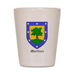 Martinez Shot Glass