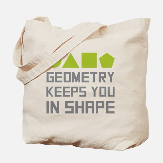 Funny Geometry Tote Bag