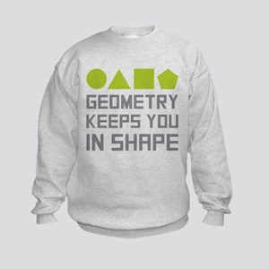 Geometry Shapes Kids Sweatshirt