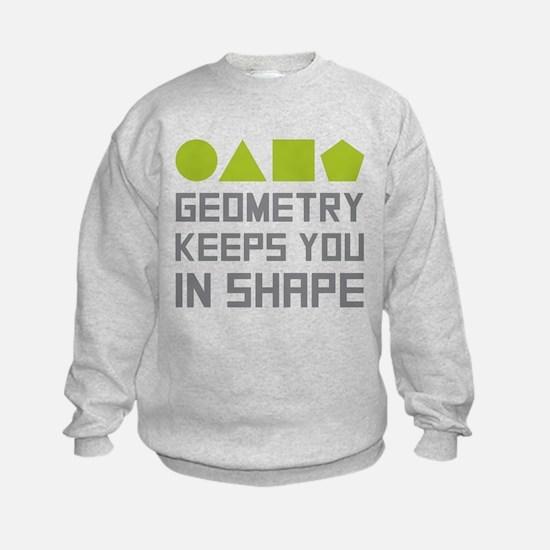 Geometry Shapes Sweatshirt
