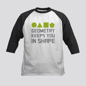 Geometry Shapes Baseball Jersey