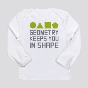 Geometry Shapes Long Sleeve T-Shirt