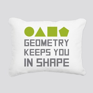 Geometry Shapes Rectangular Canvas Pillow