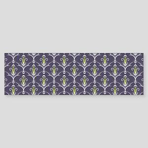 Abstract Pattern Bumper Sticker