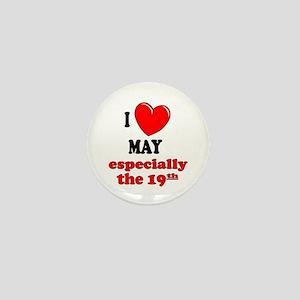 May 19th Mini Button