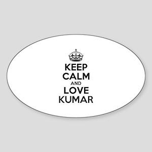 Keep Calm and Love KUMAR Sticker
