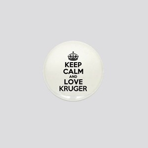 Keep Calm and Love KRUGER Mini Button
