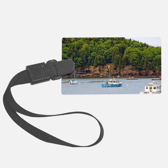 Unique Bar harbor Luggage Tag