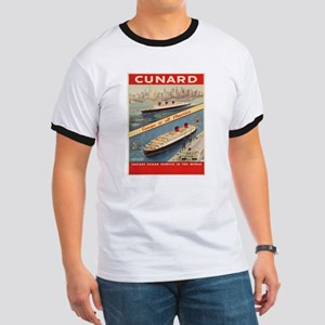Vintage poster - Cunard T-Shirt