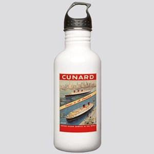 Vintage poster - Cunar Stainless Water Bottle 1.0L