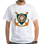 USS Terrell County (LST 1157) White T-Shirt