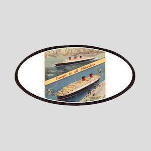 Vintage poster - Cunard Patch