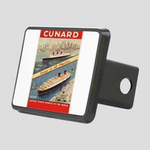 Vintage poster - Cunard Rectangular Hitch Cover
