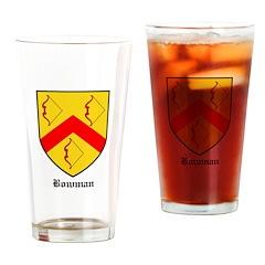 Bowman Drinking Glass