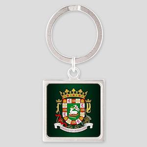 Puerto Rico COA Keychains