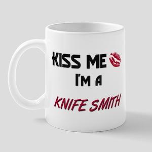 Kiss Me I'm a KNIFE SMITH Mug