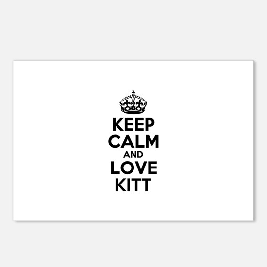Keep Calm and Love KITT Postcards (Package of 8)