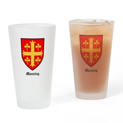 Manning Drinking Glass