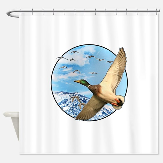 Waterfowl 2 Shower Curtain