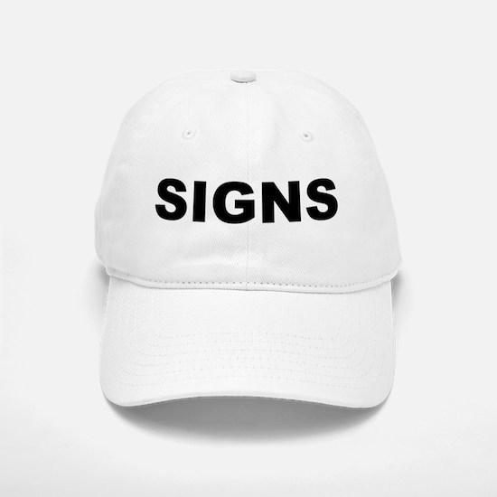Signs Baseball Baseball Cap