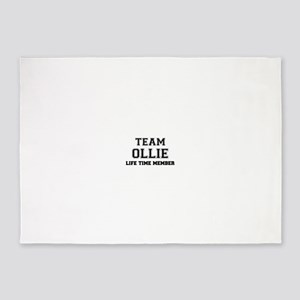 Team OLLIE, life time member 5'x7'Area Rug
