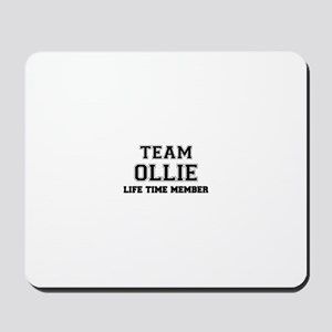 Team OLLIE, life time member Mousepad