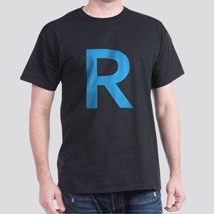 Blue Capital Letter R T-Shirt