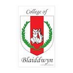Blaiddwyn Rectangle Sticker