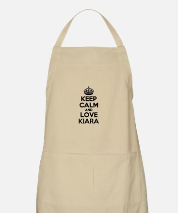 Keep Calm and Love KIARA Apron