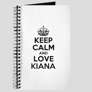 Keep Calm and Love KIANA Journal