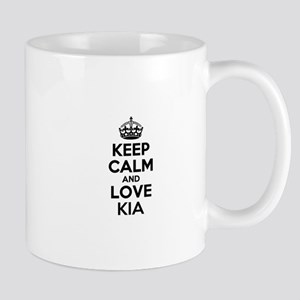 Keep Calm and Love KIA Mugs