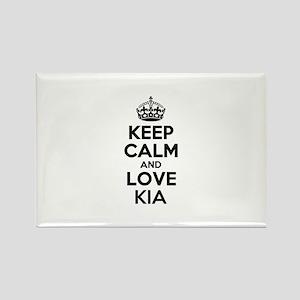 Keep Calm and Love KIA Magnets
