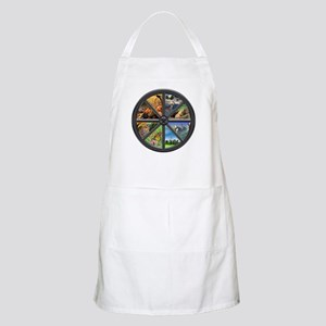 Wheel of the Year BBQ Apron