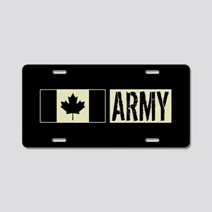 Canadian Military: Army (Bl Aluminum License Plate