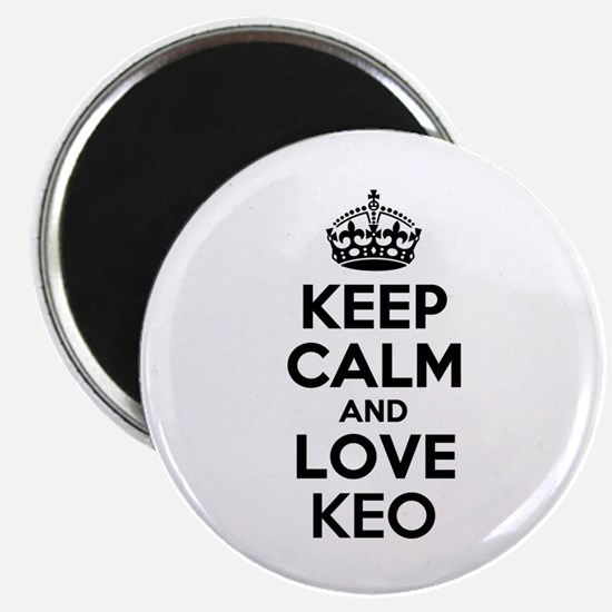 Keep Calm and Love KEO Magnets