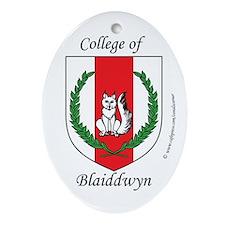 Blaiddwyn Oval Ornament
