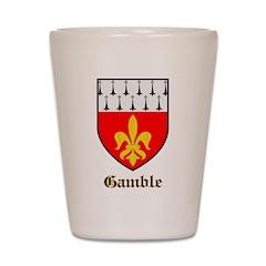 Gamble Shot Glass