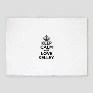 Keep Calm and Love KELLEY 5'x7'Area Rug