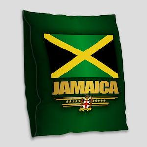 Jamaica Burlap Throw Pillow