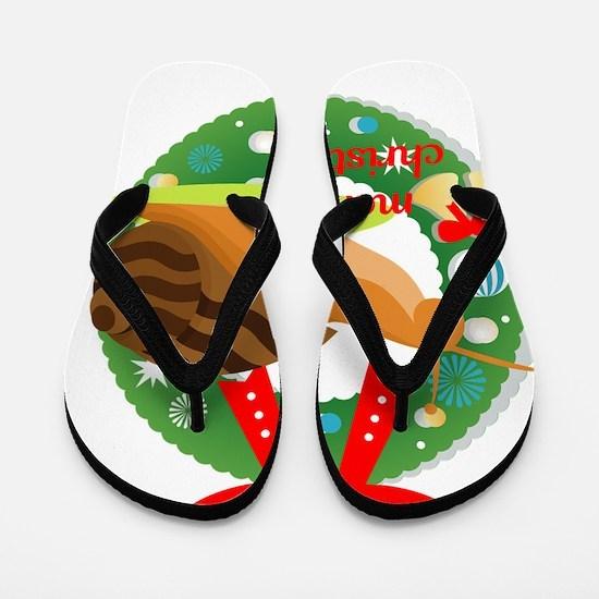 Slugged Flip Flops