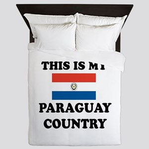 This Is My Paraguay Country Queen Duvet
