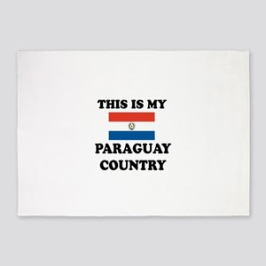 This Is My Paraguay Country 5'x7'Area Rug