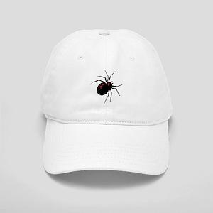 Black Widow Spider Cap